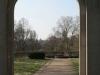 Blick von der Rosenhöhe auf die Mathildenhöhe, Darmstadt